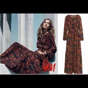H&M Boho Maxi Dress
